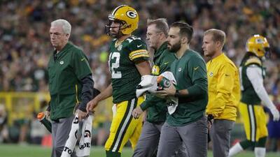 Packers espera recaudar más información sobre la salud de Aaron Rodgers