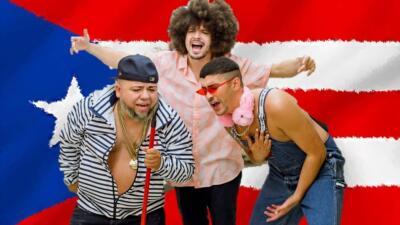 PJ Sin Suela, Bad Bunny y Ñejo, 'la prenden' con el video '¿Cuál es tu plan', desde un supermercado