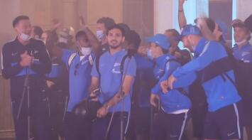 ¿Irresponsable fiesta? Zenit celebró título con fans