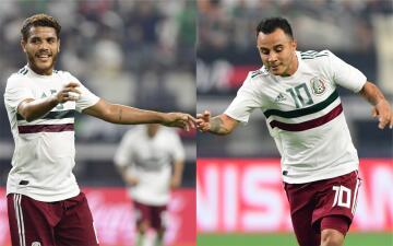 Jonathan Dos Santos y Luis Montes se lucieron con golazos en el México vs. Ecuador