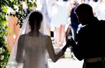 Las 15 imágenes más impresionantes de la boda del príncipe Harry y Meghan Markle
