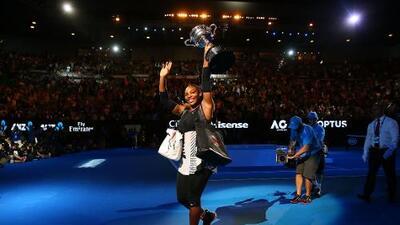 Michael Jordan sorprende a Serena Williams con un gran regalo después de ganar el Australia Open