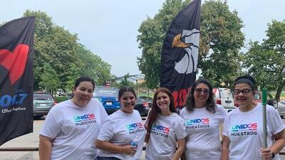 Univision Chicago participó en una actividad de solidaridad con la comunidad para el 'Day of Caring'