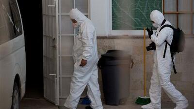 Los cadáveres desbordan una morgue mexicana y sus trabajadores se niegan a regresar