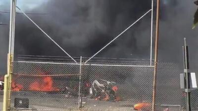 Autoridades federales inician investigación del accidente aéreo donde murieron dos personas en Nueva Jersey