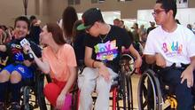 Los niños del CRIT USA dijeron presentes para animar el 'Zumbatón 2018'
