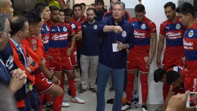 """El discurso de Peláez: """"Vamos por un pin... triunfo y a ser campeones"""""""