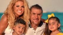 El Primo Rafa de vacaciones con su familia...
