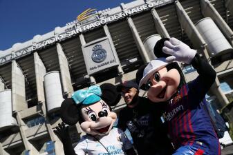 El color previo al Clásico español de Real Madrid y Barcelona por la Copa del Rey