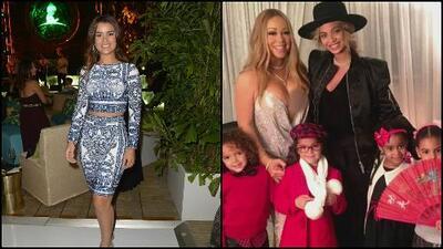 Clarissa Molina dice que no puede usar el escote con el que Mariah Carey calentó las redes sociales