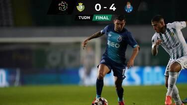 Con gol del 'Tecatito' Corona, Porto vence 4-0 al Vitoria Setubal