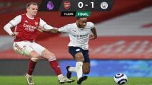 Manchester City se aferra a liderato de la Premier League