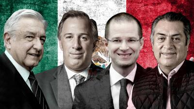 En fotos: Estos son los candidatos que buscan la presidencia de México