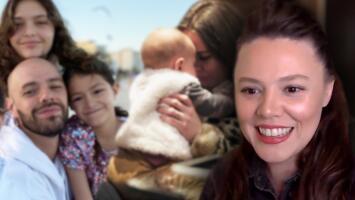 Joy se derrite al contar cómo incluyeron los latidos de su bebé y a las hijas de Jesse en su disco 'Aire'