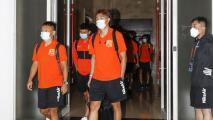 El futbol profesional regresó a China tras la pandemia
