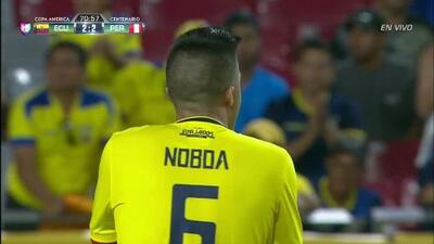 Disparo afuera de Christian Fernando Noboa Tello