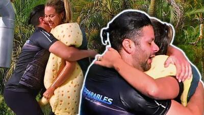 Jorge y Ana ganaron finalmente una prueba y su festejo fue en grande