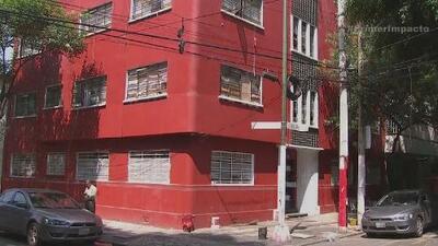 Autoridades encuentran droga en un edificio de la Ciudad de México
