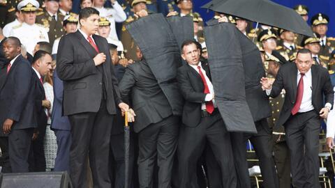 Supuesto desertor del Ejército venezolano revela detalles del atentando con drones en contra Maduro