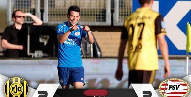 Chucky festeja campeonato con gol, en el empate ante el Roda