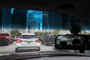 MIAMI, FL - MAY 27: Vehicle traffic is seen in the street as people prepare for the Memorial Day weekend on May 27, 2016 in Miami, Florida. AAA is predicting 34 million Americans will drive 50 miles or more for Memorial Day weekend, the most since 2005. (Photo by Joe Raedle/Getty Images)