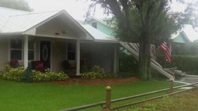 Los estragos que deja la tormenta subtropical Alberto a su paso por Florida