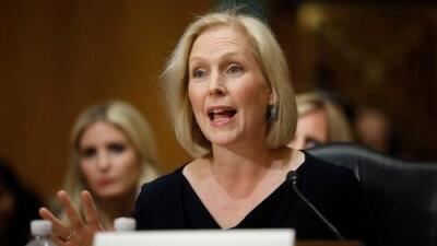 La senadora Gillibrand se une a la larga lista de demócratas que quieren ser presidente