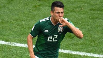 'Chucky' Lozano acelera su valor en el mercado tras el gol ante Alemania