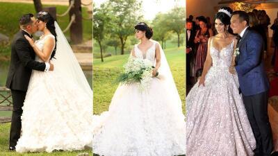 Lo que dejó la boda de Edwin Luna y Kimberly Flores: amor, escándalos y polémica