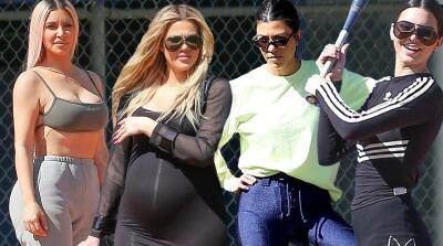 Las Kardashian no paran: esta vez se llevaron a Kendall Jenner a jugar béisbol
