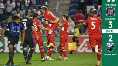 Dramático gol de Bastian Schweinsteiger le da la victoria al Chicago Fire ante Montreal Impact