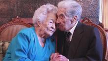 Estos hispanos de más de 100 años de edad fueron declarados la pareja más longeva del mundo
