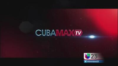 Llega Cuba Max a la televisión de EEUU