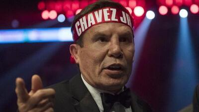 """Julio César Chávez y su ansiedad: """"Si no recaigo de aquí al sábado estoy del otro lado"""""""