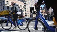 Las bicicletas públicas le están 'robando' pasajeros a los buses de Nueva York