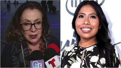 """""""Vulgaridad y bajeza"""": Laura Zapata da la cara sobre su broma al hablar de Yalitza Aparicio"""