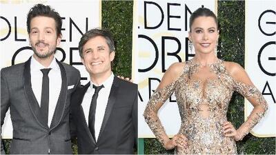Artistas hispanos brillaron con luz propia durante la celebración de los Globos de Oro en Hollywood