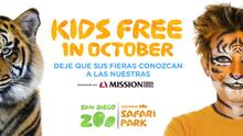 SD Zoo October Kids Free