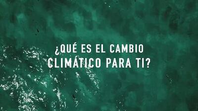 Así ven el cambio climático los afectados por Irma y María
