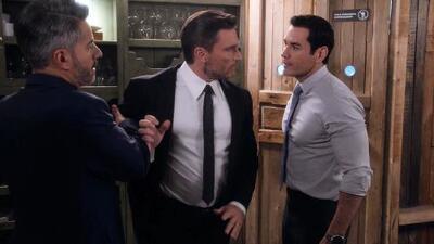 Ricardo y Carlos casi inician una feroz pelea por el amor de Alejandra