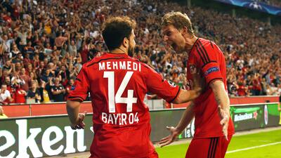 Leverkusen, CSKA Moscú y BATE se clasificaron a fase de grupos de 'Champions'