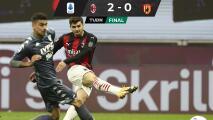 AC Milan gana y sigue soñando con la Champions League