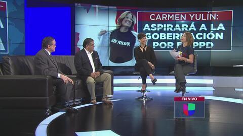 Carmen Yulín Cruz va por la gobernación de Puerto Rico