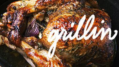 Master of the grill: Pavo a la parrilla