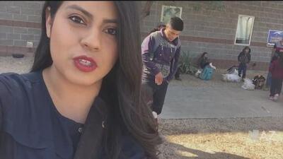 Liberan a grupo de inmigrantes en Phoenix