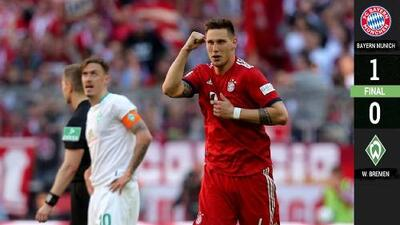 Süle reafirma el liderato de un Bayern de Múnich que mete presión al Dortmund