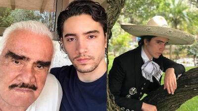 """""""Esto lo revivió"""": Alex Fernández dice que su abuelo, Don Vicente Fernández, agarró ánimo al lanzarlo de cantante"""
