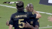 Se derrumba la defensa de Portland y en nueve minutos LAFC marca tres goles