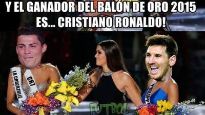 Leo Messi consigue el Balón de Oro 2015, quinto de su carrera