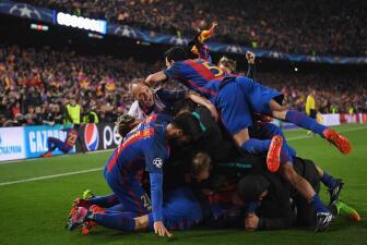Un 8 de marzo, pero del 2017, el Barça conseguía la hazaña con una remontada histórica ante un débil PSG